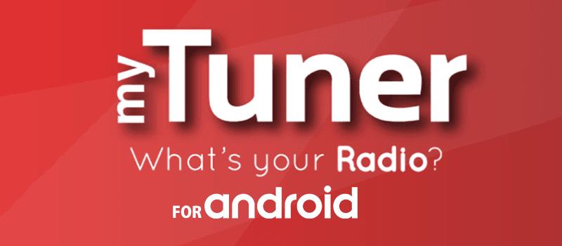 アンドロイドアプリ myTunerRadio