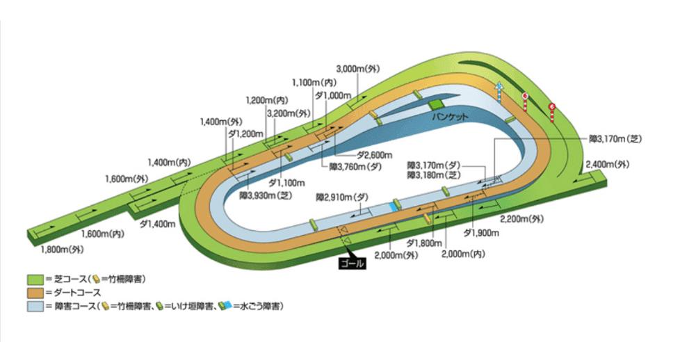 京都競馬場 コース