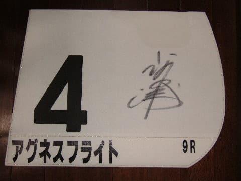 日本ダービー ゼッケン