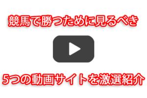 競馬 動画サイト