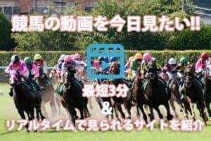 競馬 動画 今日