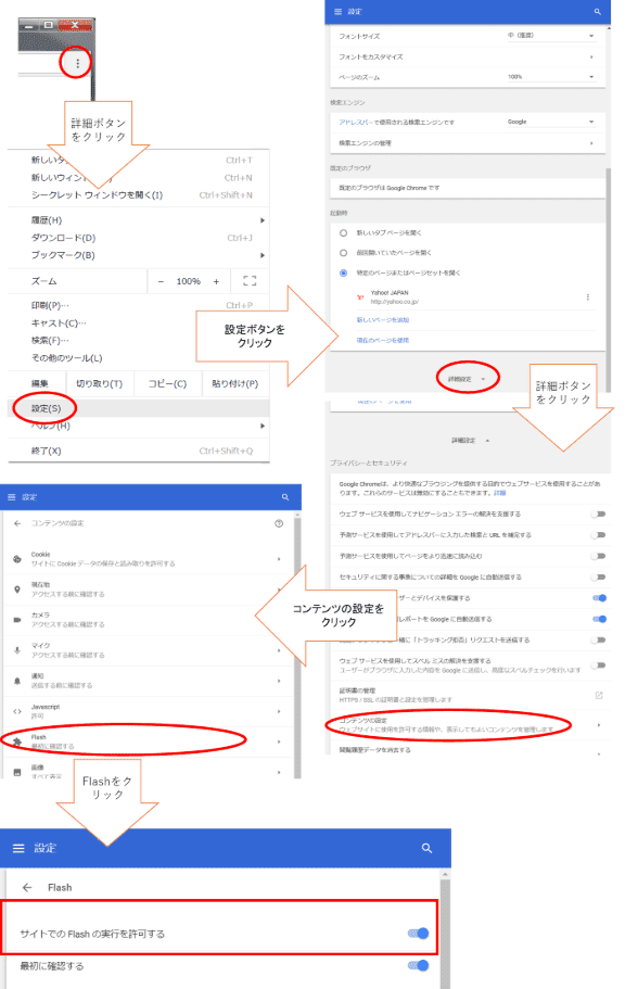 Google Chromeの対処法