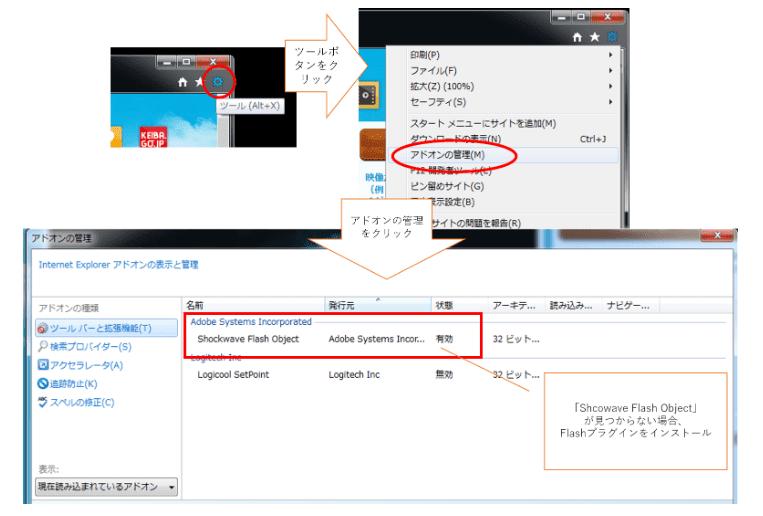 Internet Explorerの対処法