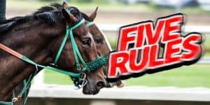 【競馬】勝つためのルール5つと勝ち続ける人の10の特徴